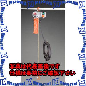 【P】【代引不可】【個人宅配送不可】ESCO(エスコ) 電動チェーンブロック EA987DD-8[ESC110658]