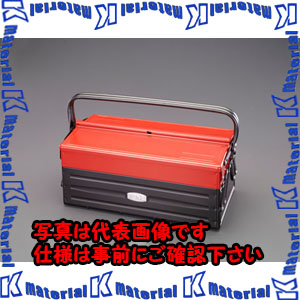 【P】【代引不可】【個人宅配送不可】ESCO(エスコ) 410x210x190mm 工具箱 EA504AE-1[ESC113496]