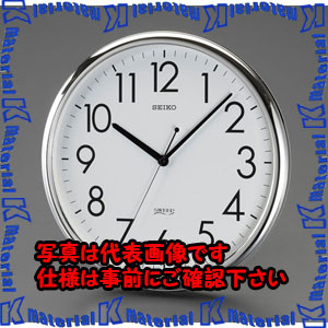 【P】【代引不可】【個人宅配送不可】ESCO(エスコ) φ314mm 掛時計 EA798CC-91[ESC113591]