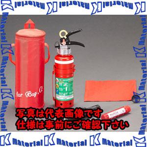【代引不可】【個人宅配送不可】ESCO(エスコ) 1.0kg 消火器セット EA999MD-4A[ESC114014]