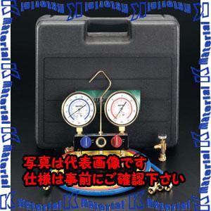 【代引不可】【個人宅配送不可】ESCO(エスコ) [R12・R22] EA101BB-2[ESC000046] ボールバルブ式ゲージマニホールドキット
