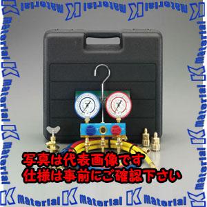 【P】【代引不可】【個人宅配送不可】ESCO(エスコ) [R134a] ゲージマニホールドキット(カーエアコン用) EA101N-5A[ESC000067]