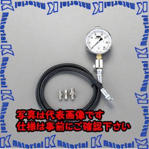 【代引不可】【個人宅配送不可】ESCO(エスコ) 50MPa/100mm 高圧用油圧計 EA514BG-50[ESC019917]