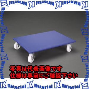 【代引不可】【個人宅配送不可】ESCO(エスコ) 800x600mm/600kg ドーリー(木製/樹脂車輪) EA520AD-7[ESC020209]