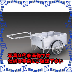 日本初の 【】【個人宅配送】ESCO(エスコ) 1200x800mm リヤカー・折畳式(側板付/アルミ製) EA520AG-6[ESC020227]:k-material-DIY・工具