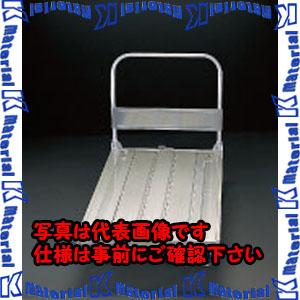 【代引不可】【個人宅配送不可】ESCO(エスコ) 1200x750mm/500kg 運搬車(アルミ製) EA520BF-3[ESC020286]