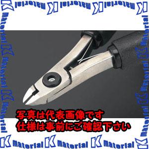 【代引不可】【個人宅配送不可】ESCO(エスコ) 115mm 精密用ニッパー(フラッシュ/ピアノ線用/ESD) EA535TX-2[ESC022767]
