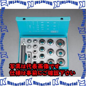 【P】【代引不可】【個人宅配送不可】ESCO(エスコ) 5-40mm 革ポンチセット(17個組) EA576FB[ESC028729]