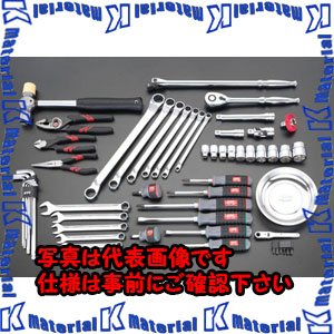 【代引不可】【個人宅配送不可】ESCO(エスコ) [58個組] 工具セット EA612SB-27[ESC033625]