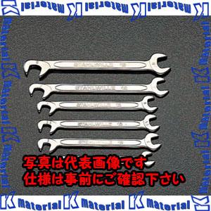 【代引不可】【個人宅配送不可】ESCO(エスコ) 10本組/4.0-11mm 薄口スパナ(ダブルアングル) EA615A-2A[ESC034851]