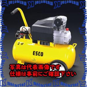 【代引不可】【個人宅配送不可】ESCO(エスコ) AC100V/1.50kw エアーコンプレッサー(タンク 30L) EA116SD[ESC002273]