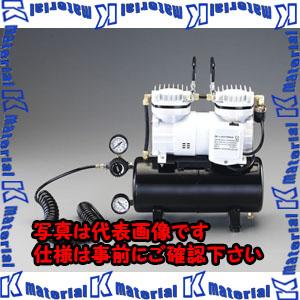 【P】【代引不可】【個人宅配送不可】ESCO(エスコ) AC100V/125W エアーコンプレッサー(タンク 3.5L) EA116ST[ESC002277]