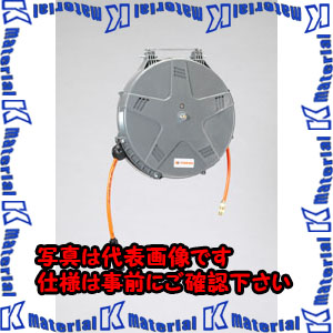 【代引不可】【個人宅配送不可】ESCO(エスコ) 8.0mmx15m エアーホースリール(自動巻取) EA124BJ-7[ESC002730]