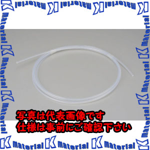 【P】【代引不可】【個人宅配送不可】ESCO(エスコ) 2.0/4.0mmx10m フッ素樹脂チューブ(軟性型) EA125FF-4[ESC003558]