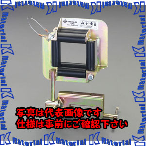 【P】【代引不可】【個人宅配送不可】ESCO(エスコ) (内寸)70x70mm  四方ケーブルローラー EA631GR-1[ESC042341]