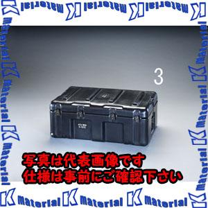 【P】【代引不可】【個人宅配送不可】ESCO(エスコ) 736x457x274mm ストレージケース(トレー付/黒) EA657H-3[ESC046298]