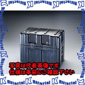 【代引不可】【個人宅配送不可】ESCO(エスコ) 736x457x609mm ストレージケース(キャスター付/黒) EA657H-6[ESC046302]