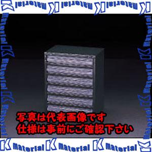 【代引不可】【個人宅配送不可】ESCO(エスコ) 360x250x440mm/1列 6段 パーツキャビネツト EA661BD-3[ESC046385]