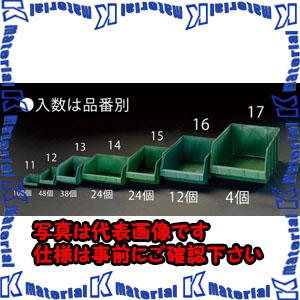 【代引不可】【個人宅配送不可】ESCO(エスコ) 103x 95x 53mm パーツトレー(重ね置型・緑/100個) EA661CM-11[ESC046473]