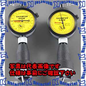【P】【代引不可】【個人宅配送不可】ESCO(エスコ) 0-12.7mm /0-90゚   内側面取りゲージ EA725AA-2[ESC050509]