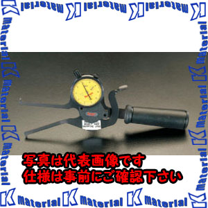【P】【代引不可】【個人宅配送不可】ESCO(エスコ) 25-75mm ダイアルキャリパーゲージ(インサイド) EA725AH-1[ESC050542]
