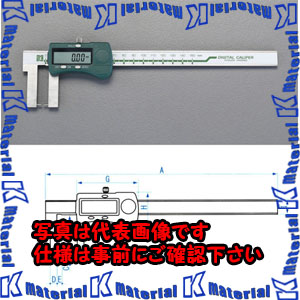 【P】【代引不可】【個人宅配送不可】ESCO(エスコ) 200mm デジタルノギス(ネック型) EA725CS-200[ESC050599]