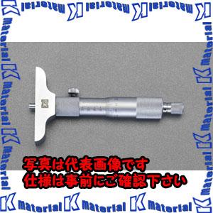 【代引不可】【個人宅配送不可】ESCO(エスコ) 0-25mm/101.5mm デプスマイクロメーター EA725FE-2[ESC050857]