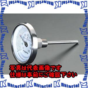【代引不可】【個人宅配送不可】ESCO(エスコ) 0-100℃/100mm バイメタル式温度計 EA727AB-7[ESC051437]