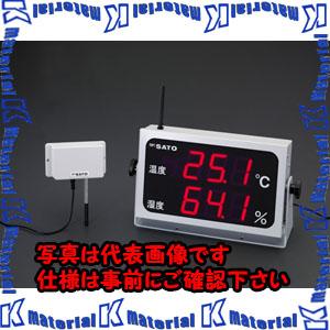【P】【代引不可】【個人宅配送不可】ESCO(エスコ) 360x202mm 大型デジタル温湿度計(コードレス) EA728AD-50[ESC051521]
