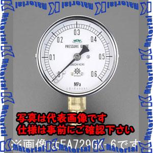 【代引不可】【個人宅配送不可】ESCO(エスコ) 100mm/0-3.0MPa 圧力計(耐脈動圧型) EA729GM-30[ESC051878]
