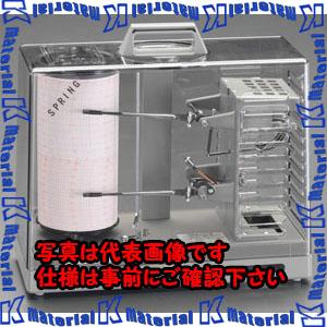【代引不可】【個人宅配送不可】ESCO(エスコ) 温湿度記録計[手巻式] EA742TE[ESC052273]