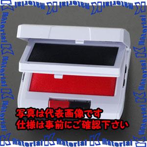 P 代引不可 個人宅配送不可 全品送料無料 ESCO エスコ 2段式 EA762AE-1 黒 赤 スタンプ台 ESC055275 与え