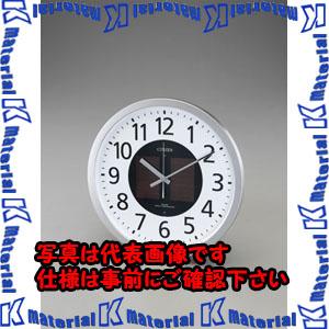 【P】【代引不可】【個人宅配送不可】ESCO(エスコ) φ350mm [電波]掛 時 計・ソーラー電源 EA798CB-74[ESC058336]
