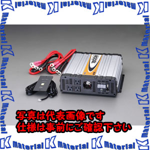 【代引不可】【個人宅配送不可】ESCO(エスコ) DC12V/AC100V・1800W 正弦波インバーター EA812JD-11[ESC060067]