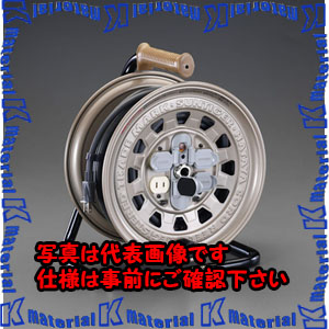 【代引不可】【個人宅配送不可】ESCO(エスコ) AC125V/15A/30m コードリール(温度センサー付) EA815B-30A[ESC060797]