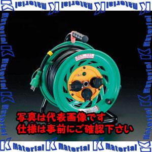 【P】【代引不可】【個人宅配送不可】ESCO(エスコ) AC100V/15A/30m コードリール(アース付/防雨型) EA815DL-1[ESC060846]