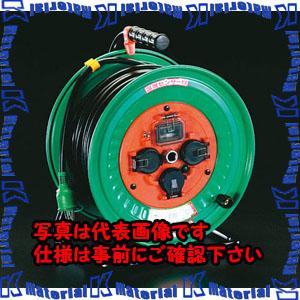 【代引不可】【個人宅配送不可】ESCO(エスコ) AC100V/15A/30m コードリール(漏電遮断/防雨) EA815DL-30[ESC060847]