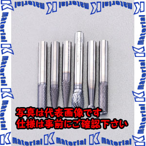 【代引不可】【個人宅配送不可】ESCO(エスコ) 6本組/6mm軸 [TiAINコート]超硬バーセット EA819V-10[ESC064226]