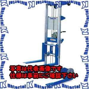 【代引不可】【個人宅配送不可】ESCO(エスコ) 181kg/3.06m 手動式リフト EA901-21[ESC071867]