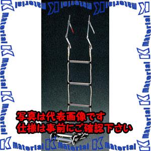 【P】【代引不可】【個人宅配送不可】ESCO(エスコ) 繩ばしご EA904Z-59[ESC072174]