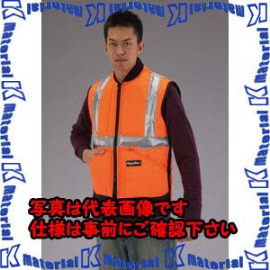 【代引不可】【個人宅配送不可】ESCO(エスコ) [ XL] 防寒ベスト(注意色 オレンジ) EA915GA-44[ESC073349]
