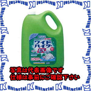 【代引不可】【個人宅配送不可】ESCO(エスコ) 4.5Lx4コ 衣類用酸素系漂白剤(ワイドハイターEXプロ EA922KB-6BA[ESC074947]