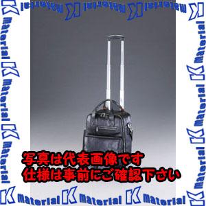 【P】【代引不可】【個人宅配送不可】ESCO(エスコ) 360x210x420mm キャリーバッグ(本革製/ブラック) EA927TG-1[ESC076002]