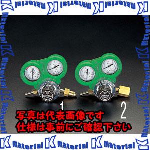 【代引不可】【個人宅配送不可】ESCO(エスコ) 酸素調整器(関東形・雌ネジ/保護カバー付) EA316AA-2[ESC007313]