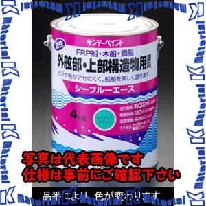 【代引不可】【個人宅配送不可】ESCO(エスコ) 4.0kg [油性塗料]上部構造物(青) EA942EN-32[ESC082387]