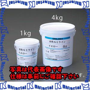 【代引不可】【個人宅配送不可】ESCO(エスコ) 1.0kg 水性床用蛍光塗料(イエロー) EA942EW-1[ESC082445]