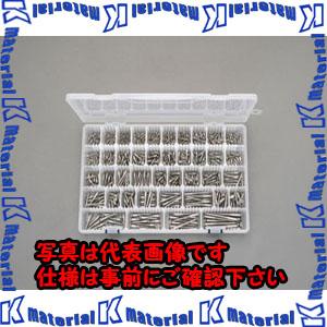【P】【代引不可】【個人宅配送不可】ESCO(エスコ) M2.1-M5.1 皿頭木ねじセット(ステンレス製) EA949ED-5[ESC088349]