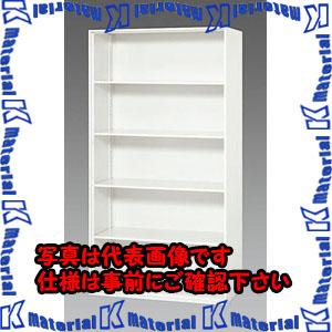【P】【代引不可】【個人宅配送不可】ESCO(エスコ) 900x450x1720mm オープン型書庫 EA954DJ-42[ESC097011]