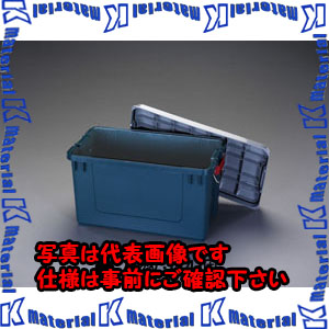 【P】【代引不可】【個人宅配送不可】ESCO(エスコ) 702x370x389mm 車載ケース(樹脂製/4個) EA960AB-8B[ESC098047]