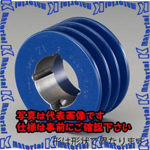【P】【代引不可】【個人宅配送不可】ESCO(エスコ) 300mm [3本構] Vプーリー(SPプーリー/50U) EA968A-165[ESC099500]